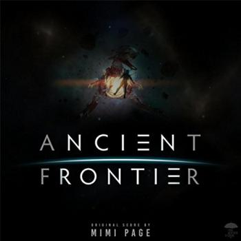 Ancient Frontier Original Score. Front (small). Click to zoom.