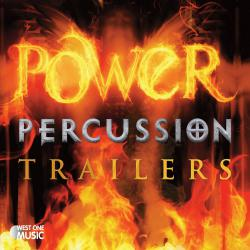 Power Percussion Trailers Original Soundtrack. Передняя обложка. Click to zoom.
