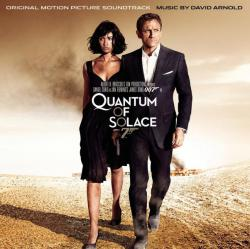 007: Quantum of Solace Original Motion Picture Soundtrack. Передняя обложка. Click to zoom.