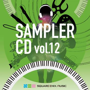 SQUARE ENIX MUSIC SAMPLER CD VOL.12. Front. Click to zoom.