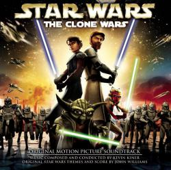 Star Wars: The Clone Wars Original Motion Picture Soundtrack. Передняя обложка. Click to zoom.
