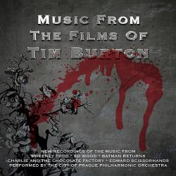Music From the Films of Tim Burton. Передняя обложка. Click to zoom.