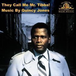 They Call Me Mr. Tibbs! Soundtrack from the Motion Picture. Передняя обложка. Click to zoom.