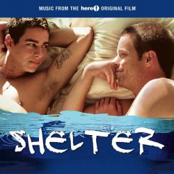 Music from the Here! Original Film Shelter. Передняя обложка. Click to zoom.