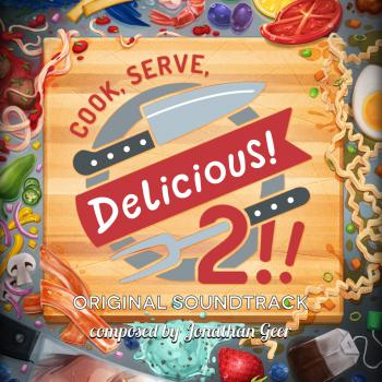 Cook, Serve, Delicious! 2​!​! Original Soundtrack. Front. Click to zoom.