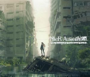 NieR: Automata Arranged & Unreleased Tracks. Front (display). Click to zoom.