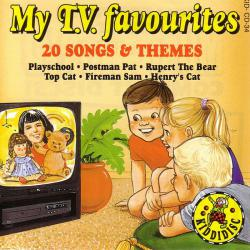 My TV Favourites - 20 Songs & Themes. Передняя обложка. Click to zoom.