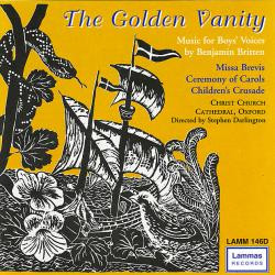 Golden Vanity - Music for Boys' Voices, The. Передняя обложка. Click to zoom.