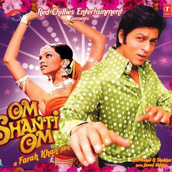Om Shanti Om Original Motion Picture Soundtrack. Передняя обложка. Click to zoom.