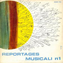 Reportages musicali N.1. Передняя обложка. Click to zoom.