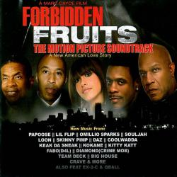 Forbidden Fruits The Motion Picture Soundtrack. Передняя обложка. Click to zoom.