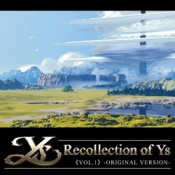 Recollection of Ys Vol.1 Original Version. Передняя обложка. Click to zoom.