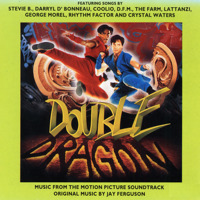 Double Dragon Music from the Motion Picture Soundtrack. Передняя обложка. Click to zoom.