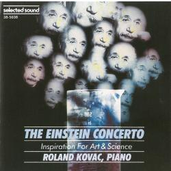 Einstein Concerto Inspiration for Art & Science, The. Передняя обложка. Click to zoom.