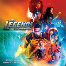 DC's Legends of Tomorrow: Season 2 Original Television Soundtrack. Передняя обложка. Click to zoom.