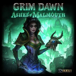 Grim Dawn: Ashes of Malmouth Soundtrack. Front. Click to zoom.