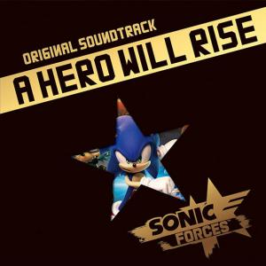 Sonic Forces Original Soundtrack - A Hero Will Rise. Slipcase Front. Click to zoom.