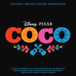 Coco Original Motion Picture Soundtrack. Передняя обложка. Click to zoom.