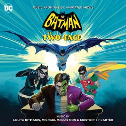Batman vs. Two-Face: Music From the DC Animated Movie. Передняя обложка. Click to zoom.