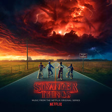 Stranger Things: Music from the Netflix Original Series. Передняя обложка. Click to zoom.