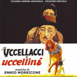 Uccellacci E Uccellini Original Motion Picture Soundtrack. Передняя обложка. Click to zoom.