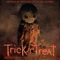 Trick 'r Treat Original Motion Picture Soundtrack Booklet Version. Передняя обложка. Click to zoom.