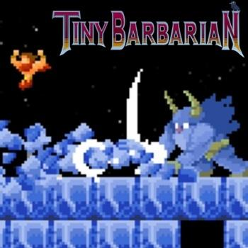 Tiny Barbarian Soundtrack. Front. Click to zoom.