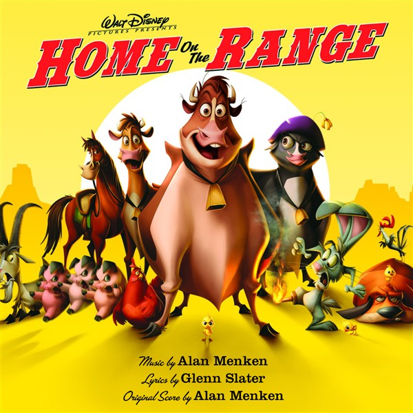 home on the range soundtrack from the motion picture. Black Bedroom Furniture Sets. Home Design Ideas