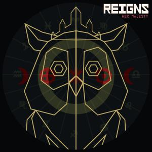 Reigns: Her Majesty. Лицевая сторона . Click to zoom.