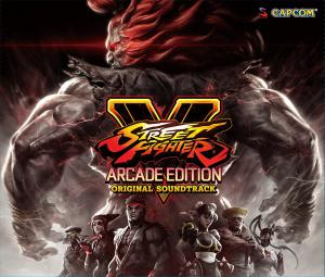 Street Fighter V: Arcade Edition Original Soundtrack. Front. Click to zoom.