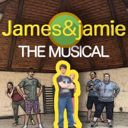 James & jamie the Musical. Передняя обложка. Click to zoom.