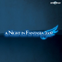 A Night In Fantasia 2009 Live. Передняя обложка. Click to zoom.