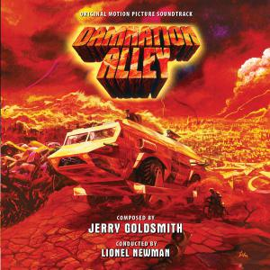 Damnation Alley Original Motion Picture Soundtrack. Лицевая сторона. Click to zoom.