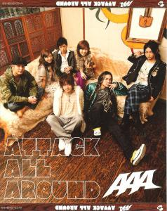 ATTACK ALL AROUND / AAA. Front. Click to zoom.