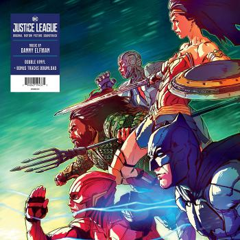 Justice League: Original Motion Picture Soundtrack. Front. Click to zoom.