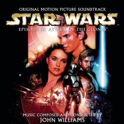 Star Wars Episode 2: Attack of the Clones Original Motion Picture Soundtrack. Передняя обложка. Click to zoom.