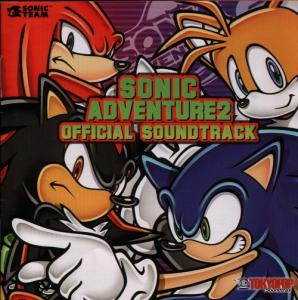 Sonic Adventure 2 Official Soundtrack. Лицевая сторона. Click to zoom.
