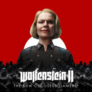 Wolfenstein II: The New Colossus. Лицевая сторона. Click to zoom.