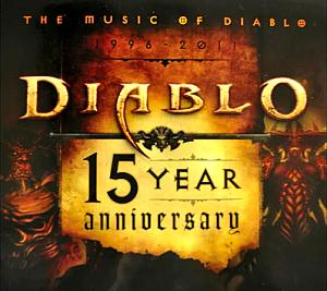 Music of Diablo 15 Year Anniversary, The. Лицевая сторона . Click to zoom.