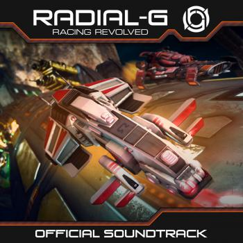 Radial-G: Racing Revolved Official Soundtrack. Front. Click to zoom.