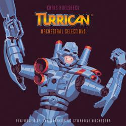 Turrican - Orchestral Selections Music Inspired by the Original Amiga Games feat. Norrkoping Symphony Orchestra. Передняя обложка. Click to zoom.