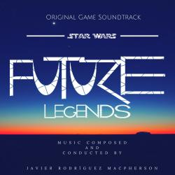Star Wars: Future Legends Original Game Soundtrack. Передняя обложка. Click to zoom.