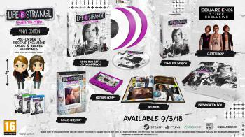 Life Is Strange: Before The Storm - Vinyl Edition. Contents (sample). Click to zoom.