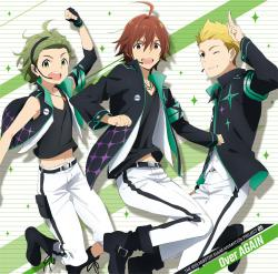 IDOLMASTER SideM ANIMATION PROJECT 05 Over AGAIN - Single, The. Передняя обложка. Click to zoom.