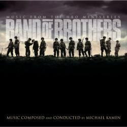 Band of Brothers Music from the HBO Miniseries. Передняя обложка. Click to zoom.