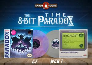 8​-​bit Time Paradox, The. Vinyl (sample). Click to zoom.