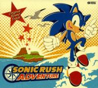 Sonic Rush Adventure Original Soundtrack. Передняя обложка. Click to zoom.