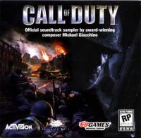 Call of Duty (Official Soundtrack Sampler). Передняя обложка. Click to zoom.