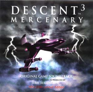 Descent 3: Mercenary Original Game Soundtrack. Передняя обложка. Click to zoom.