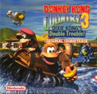 Donkey Kong Country 3 ~ Dixie's Double Trouble! Original Soundtrack. Передняя обложка. Click to zoom.